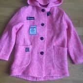 Стильне пальто для маленької модниці!!!