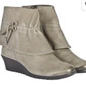 Суперские ботинки ботильоны с натуральной кожи Caprice, 23,5 см. Новые такие от 1200грн.