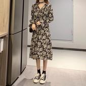 Стильное женственное легкое платье миди, цветочный принт
