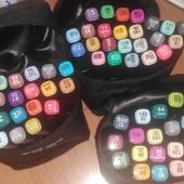 Набор спиртовых маркеров Touch Coco 24 цветов для рисования и скетчинга