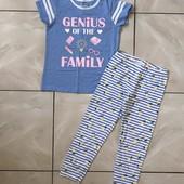 Стоп ❤ Фирменная классная футболочка для девочки,5 лет(низ ,лосины,см. в лотах)❤ Много лотов!