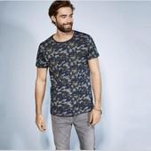 Отличная мужская камуфляжная футболка Livergy Германия размер S (44/46)
