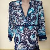 Легка шифонова блузка , стан чудовий, 10 % знижка на УП