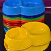 Посуд подвійні для тваринок 5шт.по ставці.
