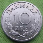 Данія 10 оре 1966