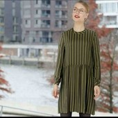 esmara.стильное вискозное платье евро 38+6замеры