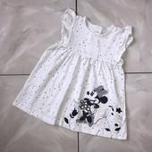 Стоп ) Минни Маус❤ Фирменное коттоновое платье,+-2 года❤ Много лотов!