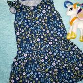 Очаровательное летнее платьице,на девочку 5-6 лет
