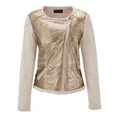 Оригинальный пиджак с пайетками от ТСМ Tchibo (германия) размер евро 48 (укр 54)