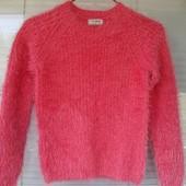 Нежнейший свитерок-травка Next на 7-8лет в идеале
