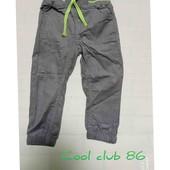 Вельветовые штанишки cool club 86р.