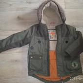 Курточка демисезонная на 4-6 лет (лот1)