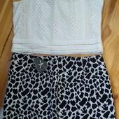 Топ, кофточка и юбка