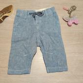 Германия!!! Стильные штаны, штанишки из био-коттона и льна для малыша! 56 рост!