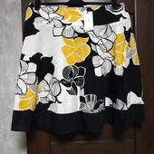 Фирменная новая красивая коттоновая юбка р.16-18