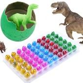Растущие животные динозавры - вылупляются из яиц! В лоте 5шт!