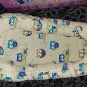 Кокон для новорождённых с бортиками