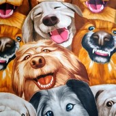 Собачки! Яркое Большое полотенце для пляжа, для душа, для бани и сауны!