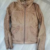 Фирменная куртка Zara/PU - кожа) - /XS!!!