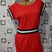 ❤️Эксклюзивное спортивное платье, натуральная вискоза с кармашками ❤️