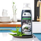 Концентрированное средство для мытья посуды с древесным углем - 500 мл