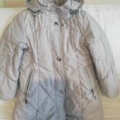 весеннее пальто или на теплую зиму 5-7лет