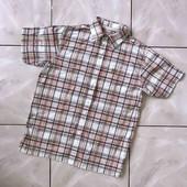 Стоп ! ❤ Фирменная рубашка для парня,9/10 лет(лён+хлопок)❤ Много лотов!