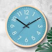 В лоте голубые! Настенные часы Auriol Германия
