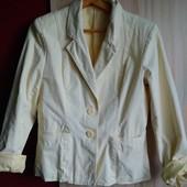 Пиджак котоновый, размер 48-50