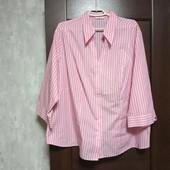 Фирменная новая красивая блуза-рубашка р.26-28