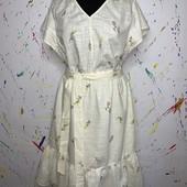 Очаровательное платье 100% лен Universal Thread размер на выбор!