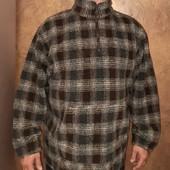 Тёплая толстая флисовая кофта флиска большого размера