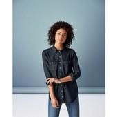 Германия, джинсовая рубашка Esmara,размер XS