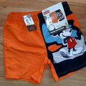 Пляжные шорты Disney Германия. 134-140см. С биркой!