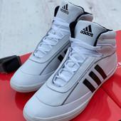 Кожа! Мужские хайтопы Adidas* 43 44
