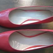 Кожаные туфли 25 см стелька
