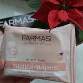 Вологі серветки для зняття макіяжу Farmasi