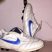 Копы сороконожки корочки бутсы обувь для футбола Nike Длина стельки 17,5 см