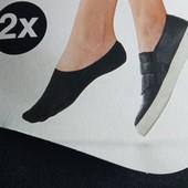 4 пары! Хлопковые носочки следы Esmara Германия размер 35-38, махровые внутри