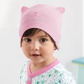 ☘Лот 2 шт☘ Комплект - яскраві шапочки, біо-бавовна, Tchibo (Німеччина), розмір: 16