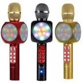 Беспроводной микрофон караоке wster ws-1816 Bluetooth микрофон 2 в 1