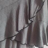 Летняя трикотажная юбка в полоску от H&M