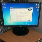 ПК: монитор, системный блок+игровая клавиатура