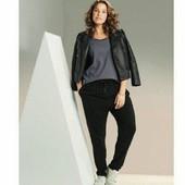 esmara., лёгкие вискозные брюки гаремки размер евро 38+6замеры