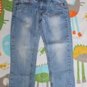 стильные джинсы на девочку 4-5лет замеры на фото