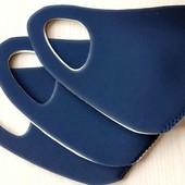 1 шт Новая Многоразовая защитная маска. Размер универсальный взрослый.