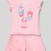♥吉-нежная пижамка C&A р.128 или р.134- !♥