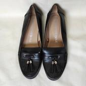 Фирменные туфли/мокасины от f&f, фактически новые. одеты 2 раза