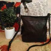 Кожаная сумка, новая!