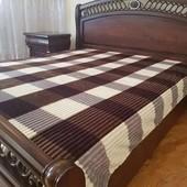 Бамбуковое покрывало-плед шарпей. Размер полуторный, двухспальный, евро.Много цветов